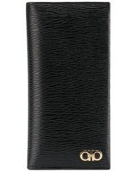 Ferragamo - Textured Bifold Wallet - Lyst