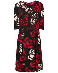 Marni - Abstract Roses Dress - Lyst
