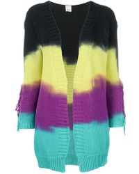 Pinko | Dye Striped Cardigan | Lyst