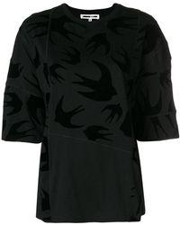 McQ - Bird Printed T-shirt - Lyst
