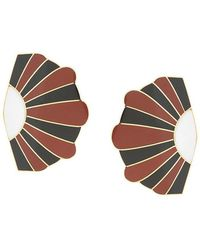 Monica Sordo - Geometric Maxi Earrings - Lyst