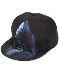 b5b0713fc72bca Givenchy - Shark Print Cap - Lyst