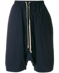 Rick Owens Drkshdw | Drawstring Shorts | Lyst