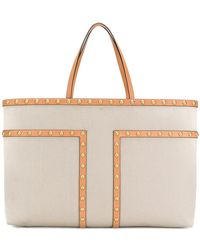 Tory Burch - Studded Shopper Tote - Lyst