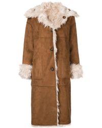 Urbancode - Faux Fur Reversible Coat - Lyst