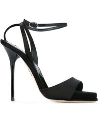 901121d96457 Lyst - Paul Andrew Westside Suede Sandals in Black
