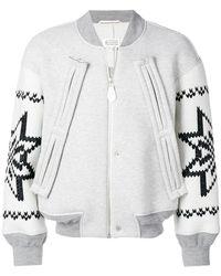 Maison Margiela - Star Embroidered Jacket - Lyst