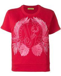 Versace Jeans - Logo Patch T-shirt - Lyst
