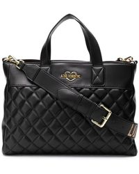 Love Moschino - Square Tote Bag - Lyst