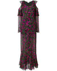 Raquel Diniz - Tulip Print Open Shoulder Dress - Lyst