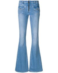 Victoria, Victoria Beckham - Faded Flared Jeans - Lyst