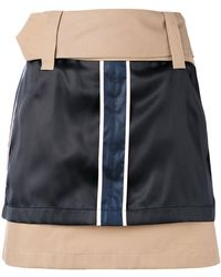 Opening Ceremony - Silk Panel Mini Skirt - Lyst