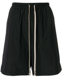 Rick Owens | Relaxed Track Shorts | Lyst
