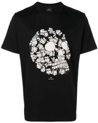4961c1e07 Gucci Monkey Print T-shirt in Black for Men - Lyst