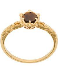 Astley Clarke - Tigers Eye Floris Ring - Lyst
