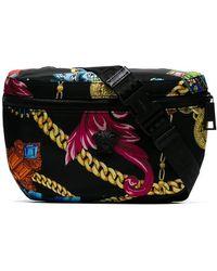Versace - Jewellery Print Belt Bag - Lyst