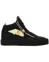 Giuseppe Zanotti - High-Top-Sneakers mit Reißverschlüssen - Lyst