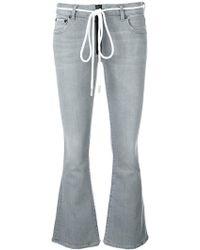 Off-White c/o Virgil Abloh | Flared Jeans | Lyst