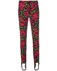 Moncler Grenoble - Floral Print Trousers - Lyst