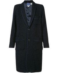 Blue Blue Japan - Patch Pocket Coat - Lyst