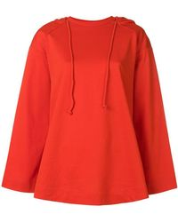 Juun.J - Slouched Hooded Sweater - Lyst