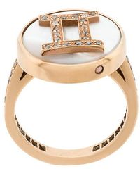 Carolina Bucci - 18kt Gold And Diamond Lucky Gemini Zodiac Ring - Lyst
