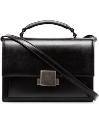 Saint Laurent - Black Bellechasse Leather Shoulder Bag - Lyst