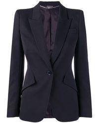 Alexander McQueen Structured Blazer Jacket