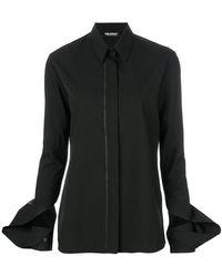 Neil Barrett - Slit Cuffs Shirt - Lyst