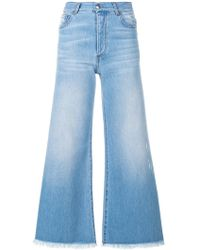 Each x Other | Flared Cropped Jeans | Lyst