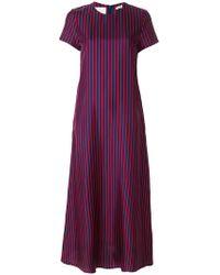 LaDoubleJ - Striped Dress - Lyst
