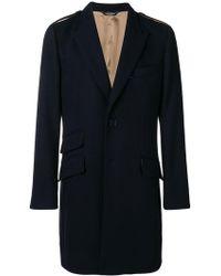 Dolce & Gabbana - Tailored Mid-length Coat - Lyst