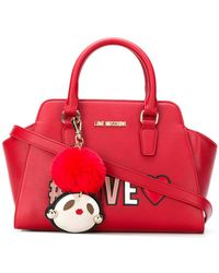 Love Moschino - Love Patch Tote - Lyst