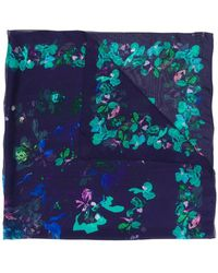 Emanuel Ungaro - Floral Print Scarf - Lyst
