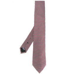 Armani - Woven Pattern Tie - Lyst
