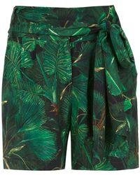 Isolda - Lauren Printed Shorts - Lyst