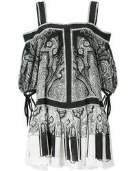 Alexander McQueen - Paisley Print Dress - Lyst