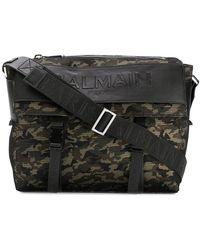 Balmain - Camouflage Satchel Bag - Lyst