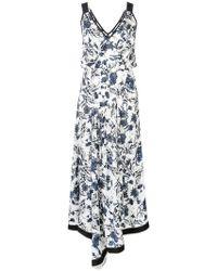 29e3ed5bb1fb Derek Lam - Nightshade Floral Cami Dress With Asymmetric Hem - Lyst