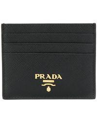 Prada - Saffiano Cardholder - Lyst