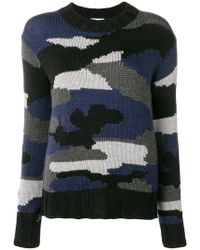 P.A.R.O.S.H. - Camouflage Sweater - Lyst