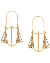 Givenchy - Libra Zodiac Earrings - Lyst