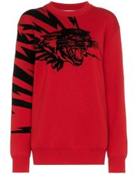 Givenchy - Jersey Flying Cat en jacquard - Lyst