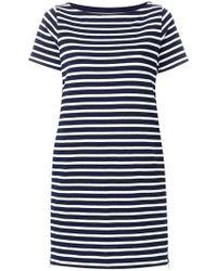 Sacai - Cotton Striped Dress - Lyst