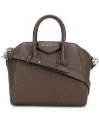 Givenchy - Logo Plaque Tote Bag - Lyst