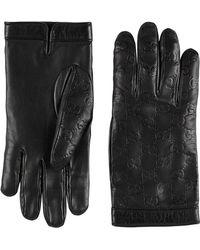 Gucci - Signature Gloves - Lyst