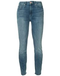Mother - Cropped Jeans - Lyst