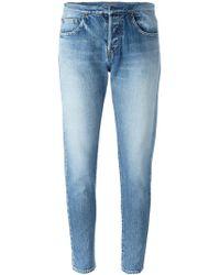 Saint Laurent - Slim Fit Jeans - Lyst