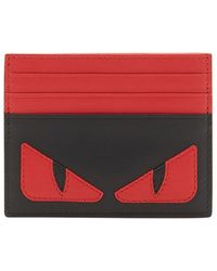 Fendi - Bag Bugs Card Holder - Lyst
