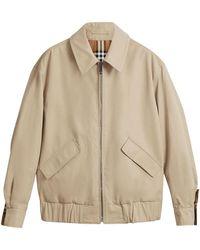 Burberry - Reversible Harrington Jacket - Lyst